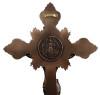 "Bronze Benedictine Standing/Hanging Crucifix - 19"""