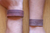 """""""Christ Before Me"""" Rustic Leather Bracelet"""