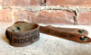 """""""I Will Spend My Heaven"""" Rustic Leather Bracelet"""