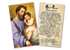 Commemorative St. Joseph Holy Card