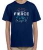 """Fierce and Free"" G.K. Chesterton Quote Children's T-Shirt"