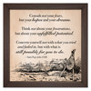 """""""Still Possible for You to Do"""" Rustic Framed Quote"""