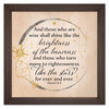 """""""Like the Stars"""" Rustic Framed Quote"""