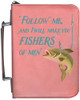 Personalized Fisherman's Bible Cover Graphic - Rose