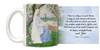 """A Lesson in Each Flower"" Allan Cunningham Quote Mug"