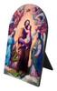 St. Joseph, Terror of Demons Arched Desk Plaque