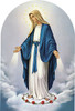 """Our Lady of Grace Arched 8x12"""" Aluminum Print"""