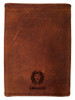 AMDG Tri-Fold Leather Wallet