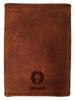 """Wonderful Adventure"" Tri-Fold Leather Wallet"