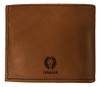 CORAGGIO Lilies and Sparrows Bi-Fold Leather Wallet
