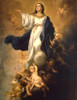 LIMITED EDITION Assumption by Murillo Canvas in Assorted Frames