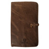 Marian Symbol Rustic Leather Journal Cover