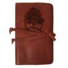 CORAGGIO Cedar of Lebanon Rustic Leather Journal Cover