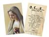 Our Lady of Fatima Decade Prayer Holy Card