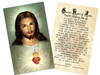 Traditional Sacred Heart of Jesus Holy Card