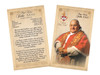 Pope John XXIII Sainthood Commemorative Holy Card with Prayer