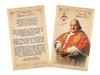Spanish Pope John XXIII Sainthood Commemorative Holy Card with Prayer