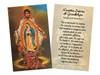 Spanish Juan Diego Holy Card