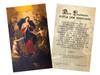 Spanish Mary Undoer of Knots Pope Francis' Prayer Holy Card