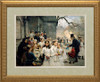 After the First Holy Communion Matted - Standard Gold Framed Art