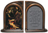 The Conversion of St. Paul by Caravaggio Bookends
