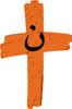 Orange Cross Project Martyr Solidarity Wall Cross