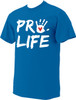 Pro-Life with Handprint NEON T-shirt