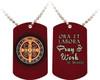 St. Benedict Medal Dog Tag
