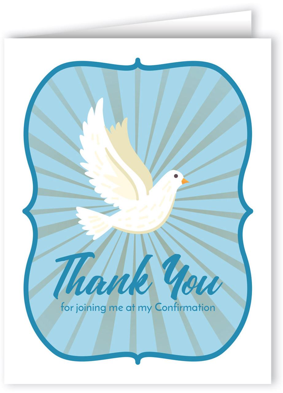Love Faith Joy Blessings Icons Confirmation Congratulations Card