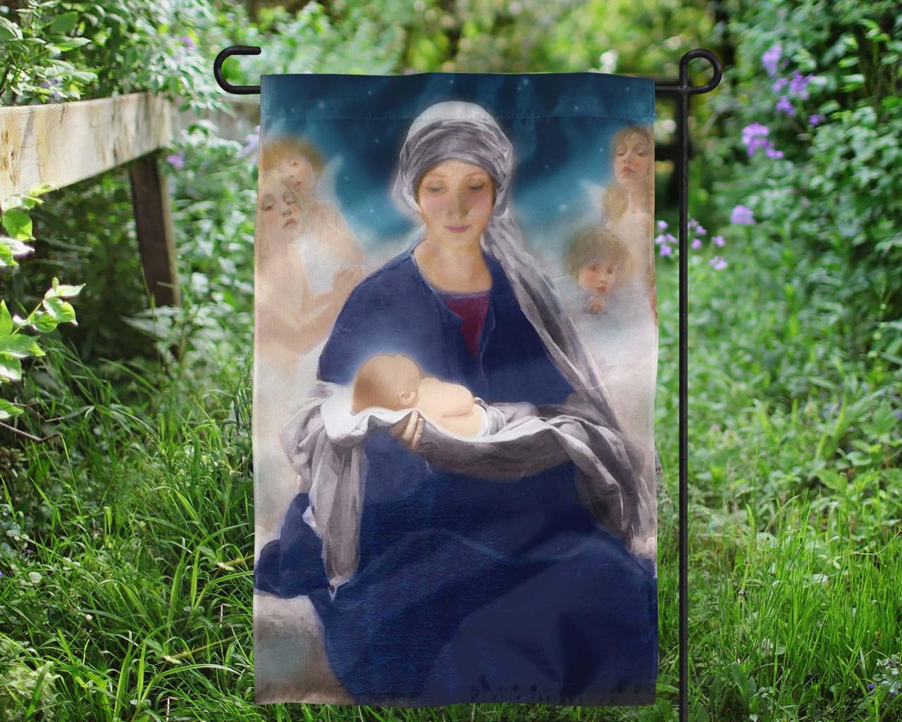 Star Of Bethlehem Outdoor Garden Flag Catholic To The Max Online Catholic Store