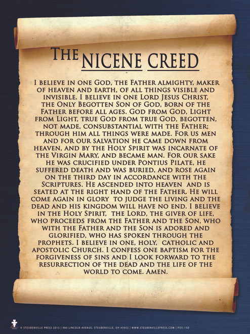 Nicene Creed Poster