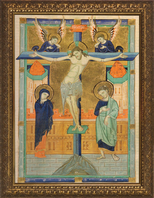 Crucifixion Icon Framed Art