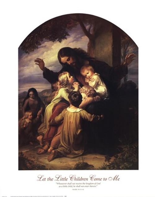 Suffer the Little Children by Vogel Vogelstein: Fine Art Print