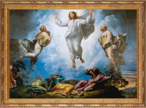 Transfiguration Detail Framed Art - Gold Frame