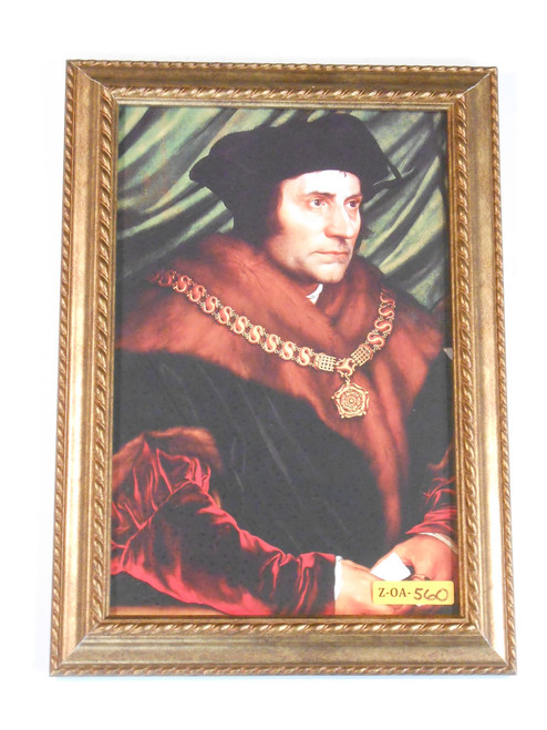 St. Thomas More 8x12 Framed Print