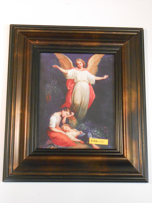 Guardian Angel with Children Resting 8x10 Framed Print
