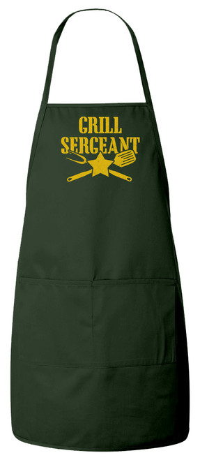 Grill Sergeant Apron (Green)