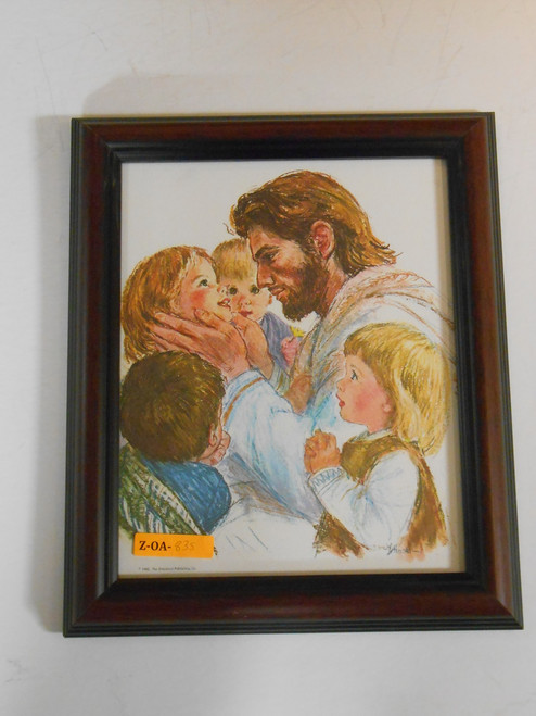 Jesus with Children 8x10 Framed Print