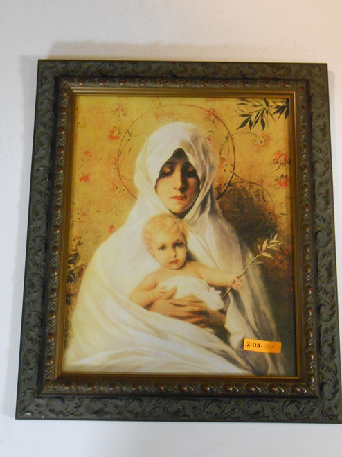 Madonna and Child 10x13 Framed Print