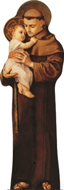 St. Anthony with Jesus Lifesize Standee