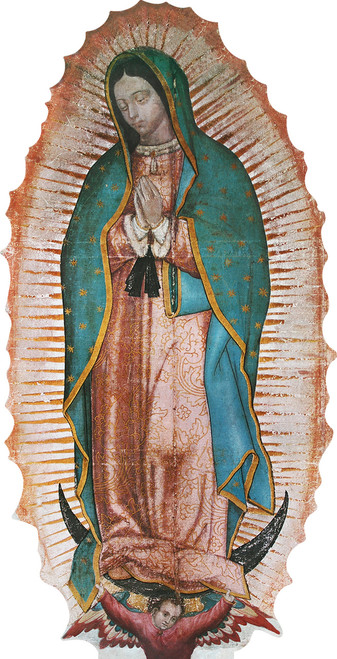 Our Lady of Guadalupe Lifesize Standee