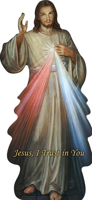 Divine Mercy Lifesize Standee