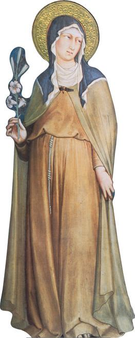 St. Clare Lifesize Standee