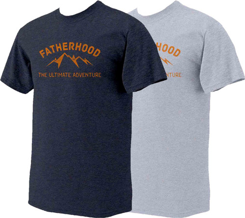 The Ultimate Adventure: Fatherhood T-Shirt