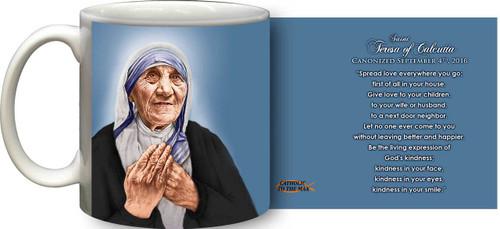 St. Teresa of Calcutta Canonization Quote Mug