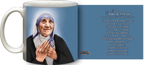 St. Teresa of Calcutta Canonization Quote Mug
