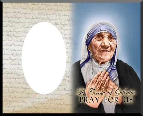 St. Teresa of Calcutta Canonization Photo Frame