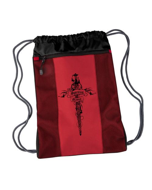 Spiritus Gladius Drawstring Cinch Backpack