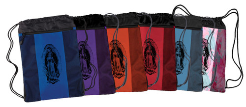 Our Lady of Guadalupe Drawstring Cinch Backpack