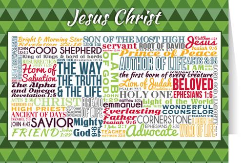 Jesus Christ Quote Card